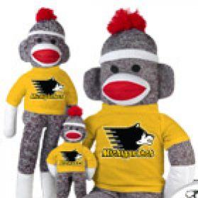 Michigan Tech Sock Monkey