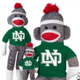 North Dakota  Sock Monkey