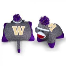 Washington Sock Monkey Pillow
