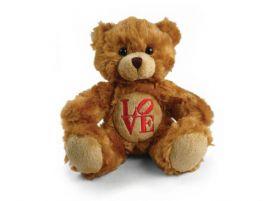 L.O.V.E Fluffy Bear 6in