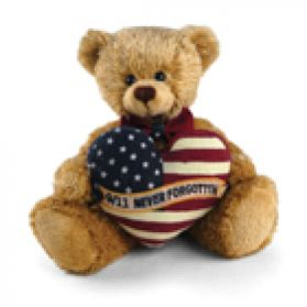 9/11 Never Forgotten Bear 8in