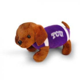 TCU Football Dog 11in