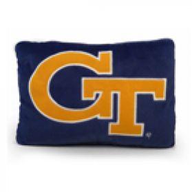 Georgia Tech Logo Pillow 11in