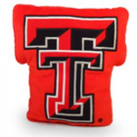 Texas Tech Logo Pillow