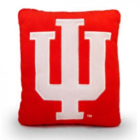Indiana Logo Pillow 11in