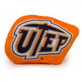 Texas El Paso Logo Pillow