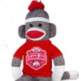 2014 Ohio State Nat'l Championship Sock Monkey 40