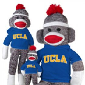 UCLA Sock Monkey
