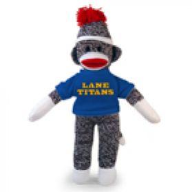 Lane College Sock Monkey  (8