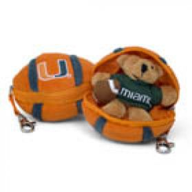 Miami Football Keychain