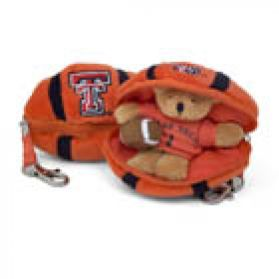 Texas Tech Football Keychain
