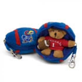 Kansas Football Keychain