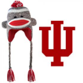 Indiana Sock Monkey Hat