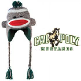 Cal Poly Sock Monkey - Hat
