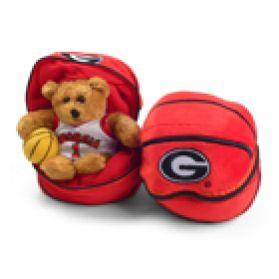Georgia Zipper Basketball 8in