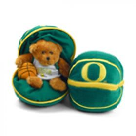 Oregon Zipper Basketball 8in
