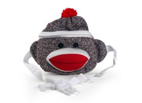Sock Monkey Fanny Pack
