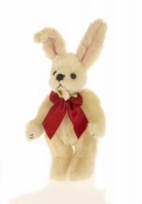 Jointed Mohair Rabbit