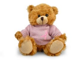 Pink Sweater Ribbon Bear