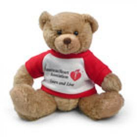 AHA - American Heart T-shirt Bear