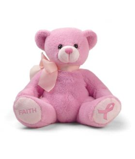 Pink Faith Bear