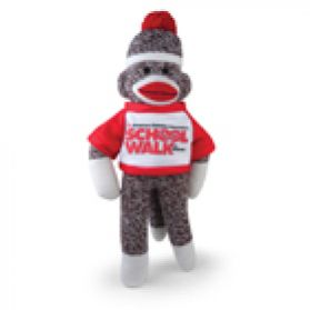 School Walk Sock Monkey - 8