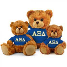 Alpha Xi Delta Hoodie Bear