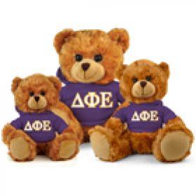Delta Phi Epsilon Hoodie Bear