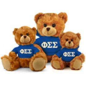 Phi Sigma Sigma Hoodie Bear