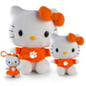 Clemson Hello Kitty