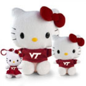 Virginia Tech Hello Kitty