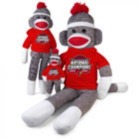 2013 Louisville Champ Sock Monkey