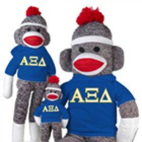 Alpha Xi Delta Sock Monkey