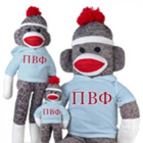 Pi Beta Phi Sock Monkey
