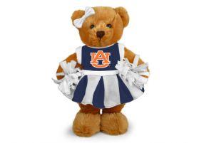 Auburn Cheerleader Bear 8in