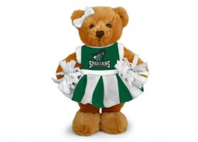 Castleton State Cheerleader Bear
