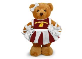 Central Michigan Cheerleader Bear
