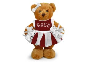 Central Penn Cheerleader Bear 8in