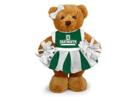 Dartmouth Cheerleader Bear 8in