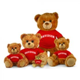 Davidson College Jersey Bear