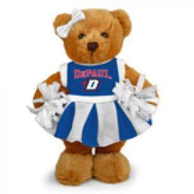 DePaul Cheerleader Bear