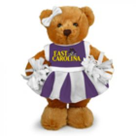 East Carolina Cheerleader Bear