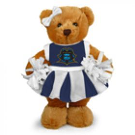 East Tennessee State Cheerleader Bear 8in