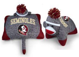 FSU Sock Monkey Pillow