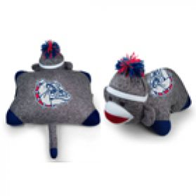 Gonzaga Sock Monkey Pillow 24in