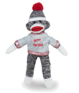 New Year Sock Monkey, 8