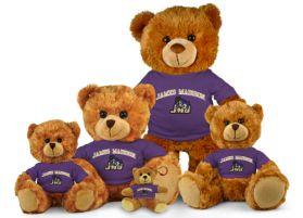 James Madison Jersey Bear