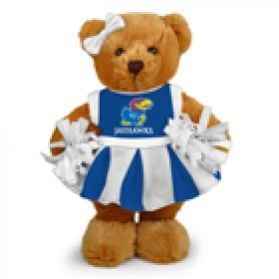 Kansas Cheerleader Bear