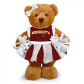 Minnesota Cheerleader Bear 8in