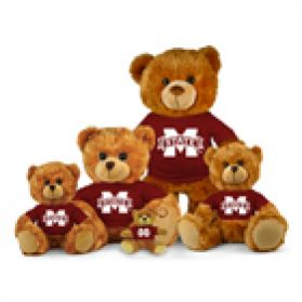 Mississippi State Jersey Bear